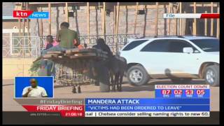 Two miners killed in a quarry attack in Mandera in the wake of 12th May 2017