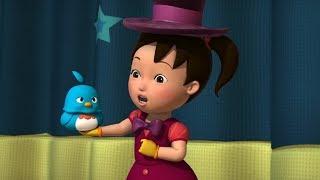 Английский язык для малышей - Мяу-Мяу - Волшебная шляпа  (Magic Hat) - учим английские слова