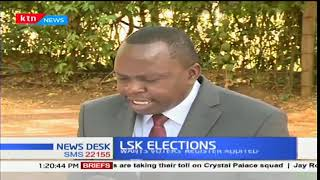 Former LSK president James Mwamu calls for transparency in the forthcoming elections