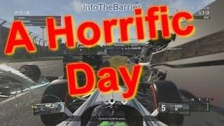 F1 Game 2016 - A Horrific Day