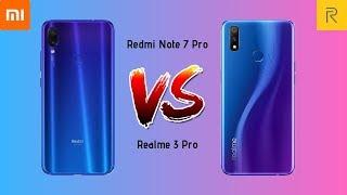 Realme 3 Pro Vs Redmi Note 7 Pro🔥🔥 |  Asli Pro Koun Hai | Full Comparision