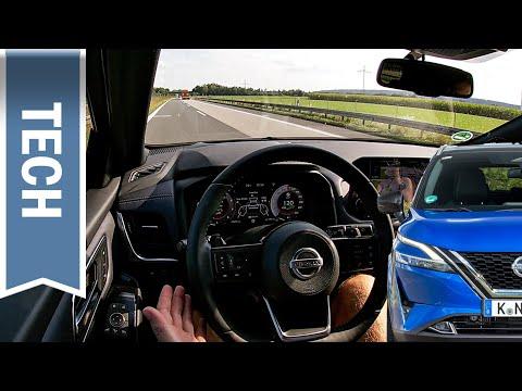 (Erstaunlich gute) Assistenzsysteme im Nissan Qashqai 2021: Neuer ProPilot & alle Funktionen im Test