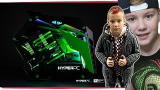 РАСПАКОВКА Мощный Компьютер от HyperPC Хайпер за 750,000р Core i9-7940X ,GeForce GTX 1080Ti Strix