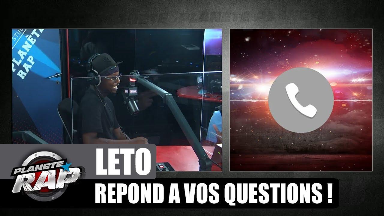 Le FEAT de RÊVE de LETO ? Il répond à VOS questions ! #PlanèteRap