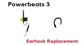 How to Repair PowerBeats 3 Wireless Left Ear Hook Replacement