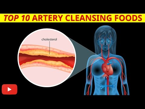 ►Top 10 Artery Cleansing Foods [Clinically Proven] - by Dr Sam Robbins