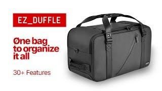 EZ_Duffle by Torba - easy modular ORGANIZATION wit...