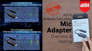 ASUS AI Noise Cancelling Microphone Adapter Overview and Testing