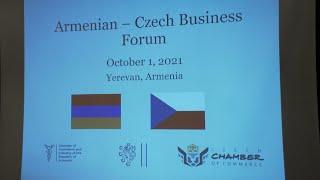 ՀՀ ԱԳ նախարար Արարատ Միրզոյանի ելույթը հայ-չեխական գործարար համաժողովի բացմանը