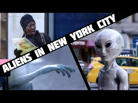 X-File Aliens Scaring New Yorker's
