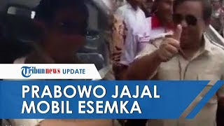 Beredar Video Prabowo Subianto Jajal Mobil Esemka, Gerindra Protes karena Video Lama Diunggah Ulang