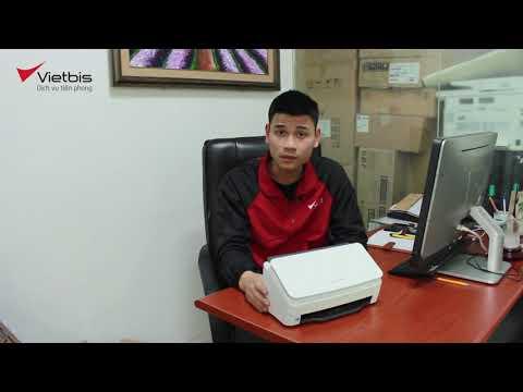 Unbox máy scan HP ScanJet 3000 s4