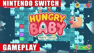 Hungry Baby: Party Treats Nintendo Switch Gameplay