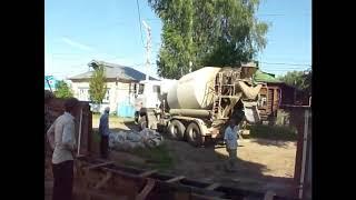 Фундамент гараж и пристрой