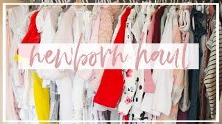 NEWBORN CLOTHES HAUL | H&M, NEXT PRIMARK, ASDA + MORE