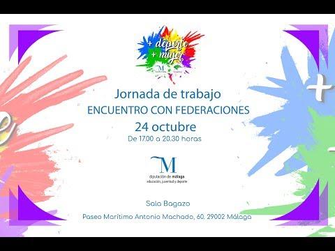 Resumen del encuentro con federaciones andaluzas en el marco de +deporte+mujer