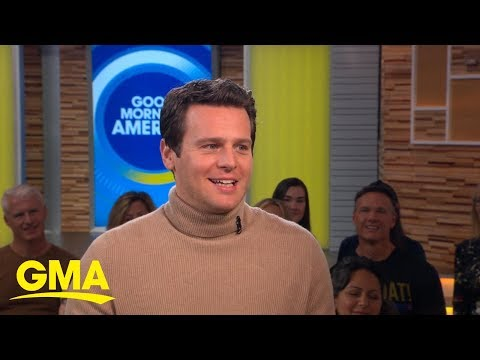 Jonathan Groff talks about his epic ballad in 'Frozen 2' | GMA