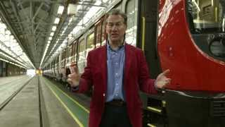Our new hi-tech trains introduced by Michael Portillo - Tube improvements