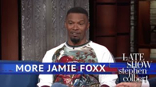 Jamie Foxx Had To Regain His Funny After Watching Chris Tucker - dooclip.me