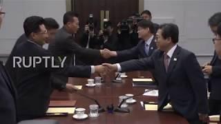 Korean DMZ: North, South Korea Discuss Asian Games Sports Co-operation