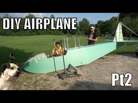 DIY Electric ultralight pt2 (tail section)
