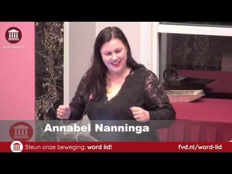 Annabel Nanninga fileert 'loonkloof' en gender-onzin Amsterdam