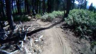 Mountain biking Tumalo Falls loop in Bend OR, part 1