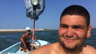 balikçi teknesiyle denize açildim samsun yakakent