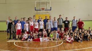 Мастер-класс БК Новосибирск для воспитанников ДЮСШ №5