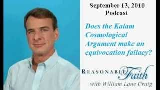 Does The Kalam Cosmological Argument Equivocate?