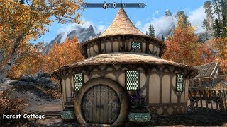 Forest Cottage - Skyrim Special Edition House Mod