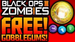 COD Black Ops 3 ZOMBIES HOW TO GET FREE GOBBLEGUM'S EASTER EGG! (NO LIQUID DIVINIUM) Shadows of Evil