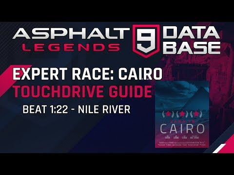 Expert Race Cairo: Monday - Nile River 1: 22 Touchdrive Guide
