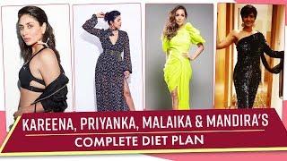 What Kareena Kapoor Khan, Priyanka Chopra, Malaika Arora & Mandira Bedi Eat In An Entire Day  Rewind