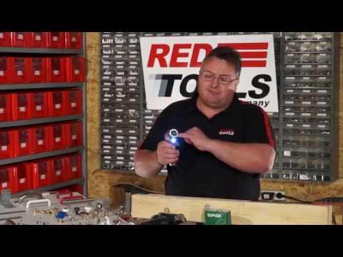 """Red Tools Akku-Stabschrauber """"Hans"""" 3.6V 1.3Ah"""
