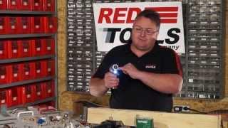 Red Tools Akku-Stabschrauber