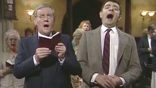 Sneaking Sweets in Church | Mr. Bean Official
