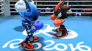 Mario & Sonic at the Rio 2016 Olympic Games Boxing #4 Donkey
