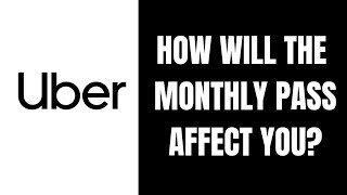 Uber Offers Monthly Ride Pass