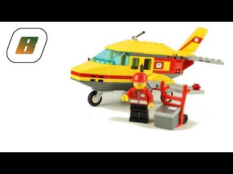Vidéo LEGO City 7732 : L'avion postal