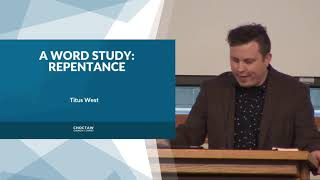 Repentance: A Word Study