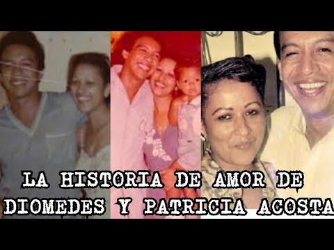 La Historia De Amor Entre Diomedes Y Patricia Acosta
