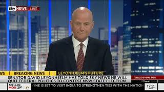 David Leyonhjelm On Why He Is Running For The NSW Legislative Council
