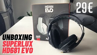 Superlux HD681 Evo Unboxing & Review - Der beste Budget Studiokopfhörer 2020 für 29€?! - seelitech