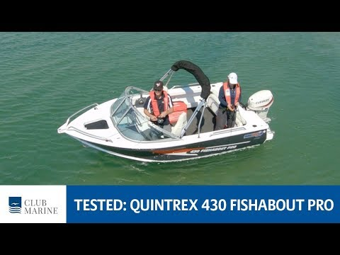 Quintrex 430 Fishabout Pro Boat Review | Club Marine