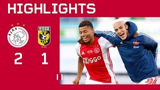 Highlights   Ajax - Vitesse   KNVB Bekerfinale 2021 ?