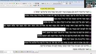 """מסכת שבת פט. - המשל ממרות ר' יהושע בן לוי: משמעות הכתרים של האותיות והזה שמשה """"בושש"""" (א' באב תש""""פ)"""