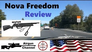 Nova Freedom Review (How Many Pumps?) PCP Air Rifle W/ Hand Pump #2