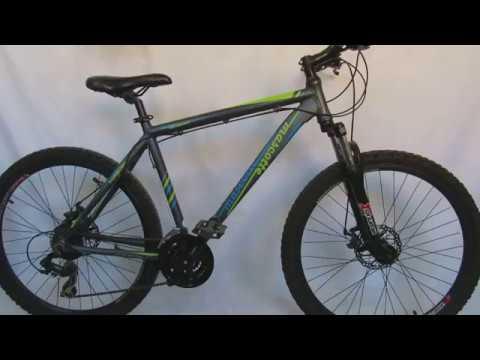 Mascotte алюминиевый горный велосипед на дисковых тормозах (видео)