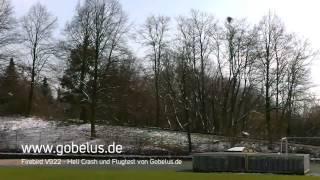 Firebird V22 6 Kanal RC Heli von WLToys ·  Heli Crash und Flugtest von Gobelus.de